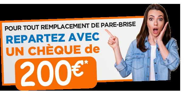 smile 200€ cheque