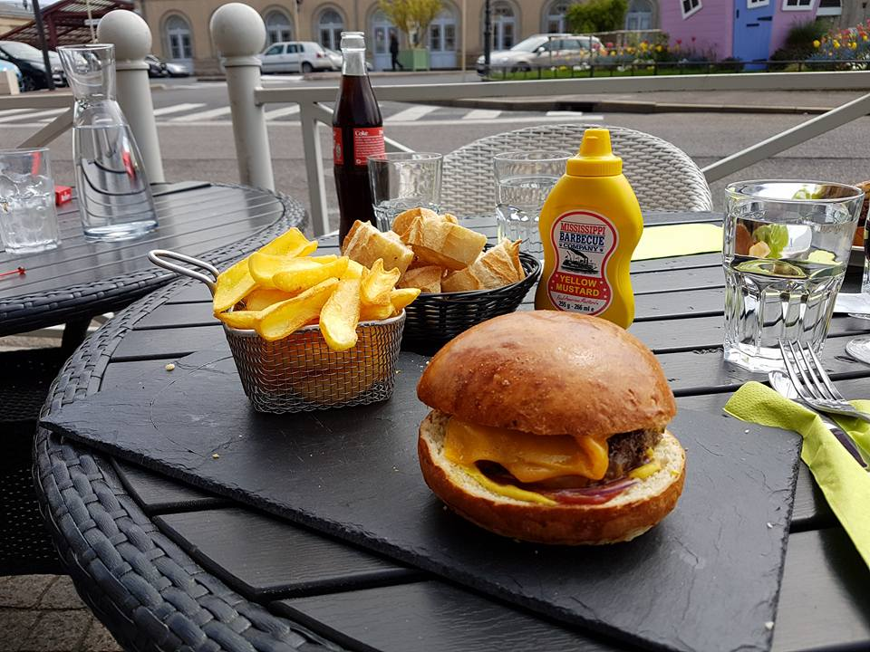 Burger café